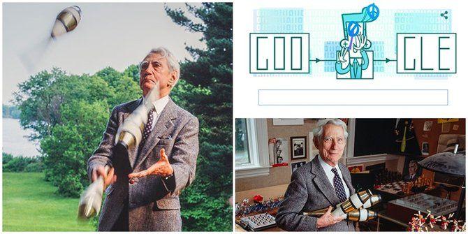 Claude Shannon, Bapak Teori Informasi Di Google Doodle Hari Ini - http://www.kabartekno.id/2333/claude-shannon-bapak-teori-informasi-di-google-doodle-hari-ini.html/  #News