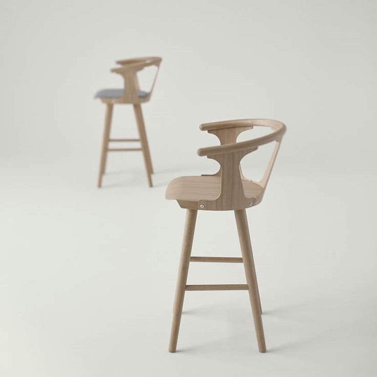 Get some bar stools for you kitchen. In Between Barstool by Sami Kallio. Visit design-tales.com. #dubai #scandinaviandesign #interiordesign #barstool