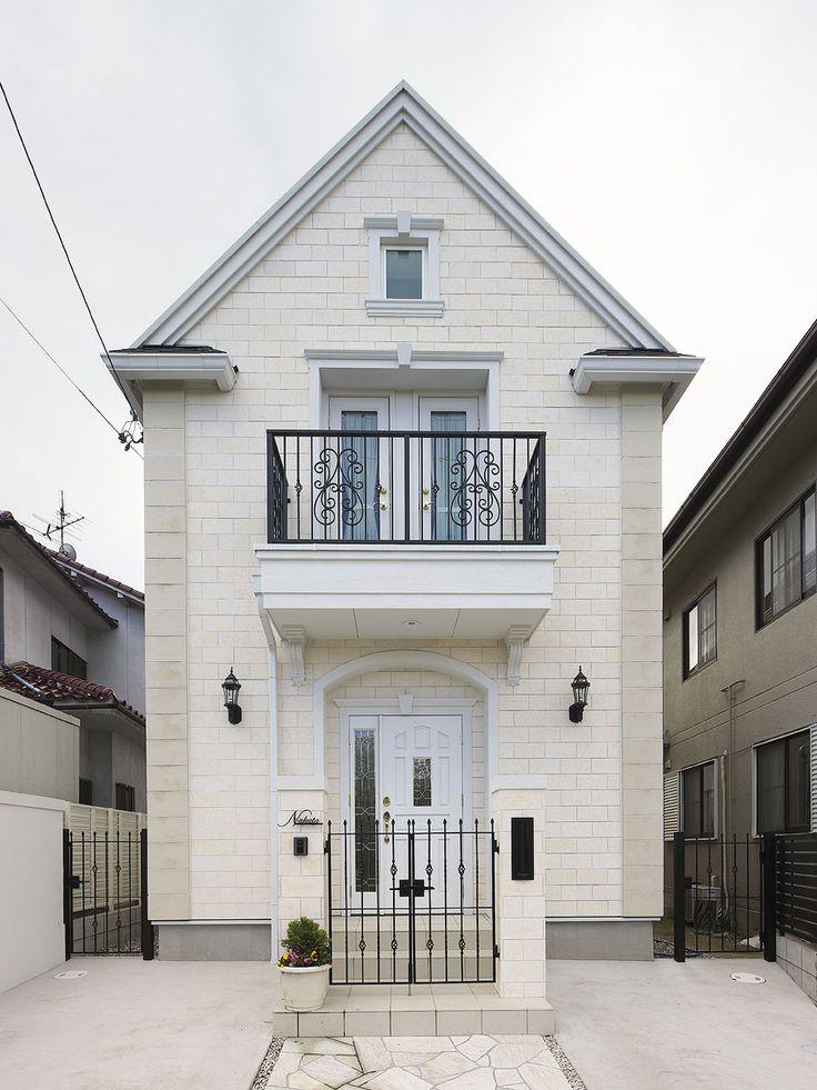 パリ郊外型の輸入住宅 イル・ド・フランス イル・ド・フランス NA邸 輸入住宅をお探しならトップメゾン   トップメゾン株式会社