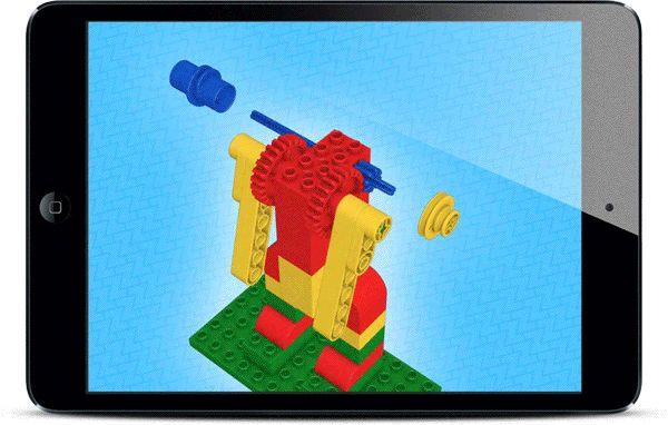 LEGO building instruction system