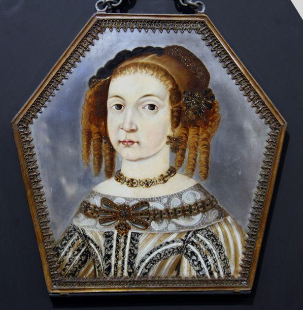 Portrait of Ewa Bronikowska, 1674 Museum in Międzyrzecz, Poland