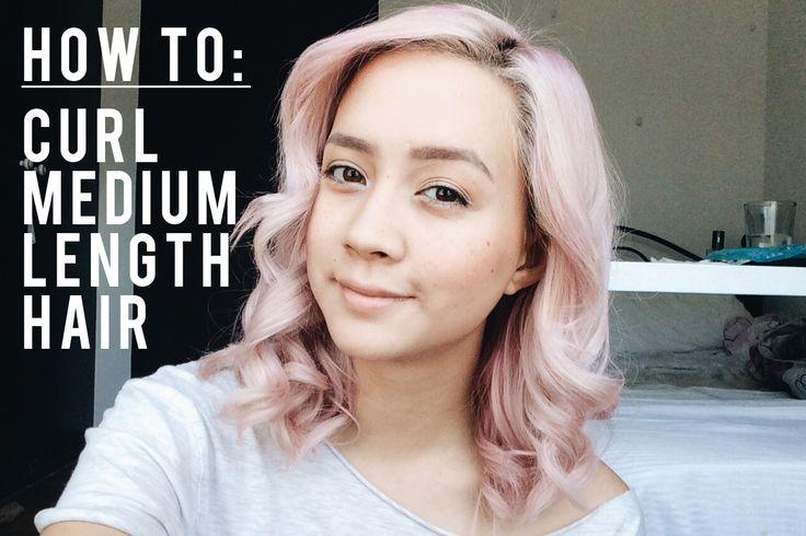 1000+ Ideas About Curling Medium Hair On Pinterest