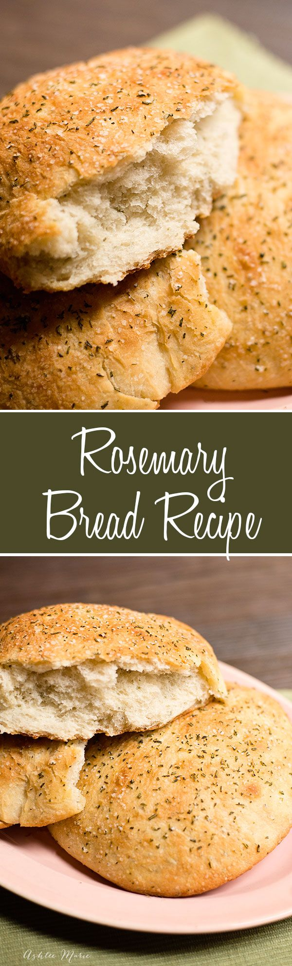 homemade rosemary bread, it is easy to make, tastes amazing and goes well with any meal