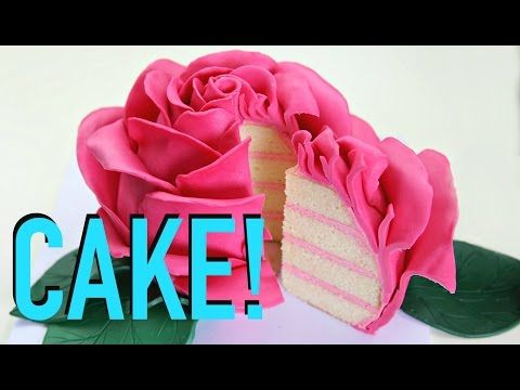 World's Most Beautiful Rose Cake - CAKE STYLE - YouTube