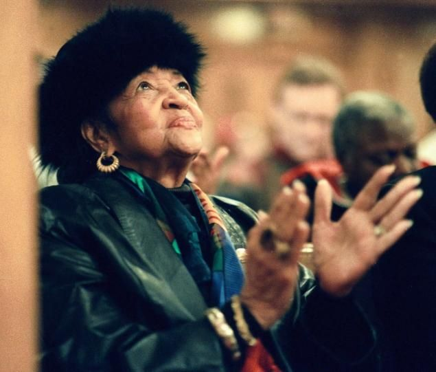 Helen Burns Jackson (seen in 1999), the mother of Rev. Jesse Jackson, died in her hometown of Greenville, S.C., Monday morning.