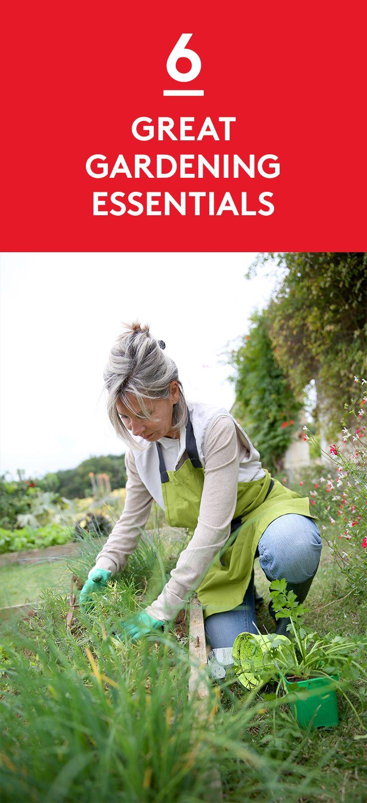 6 Great Gardening Essentials
