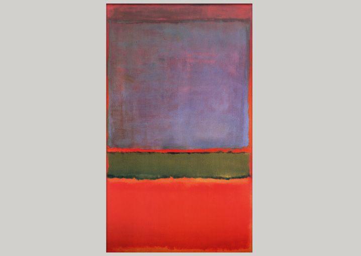 $186 млн. Марк Ротко «№ 6 (Фиолетовое, зелёное и красное)», 1951