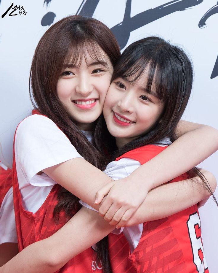 WJSN - EunSeo 은서 (Son Juyeon 손주연) & SeolA 설아 (Kim Hyunjung 김현정) #우주소녀