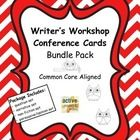 Writer's Workshop Conference Cards Bundle Pack-so helpful when conferencing with each student! $