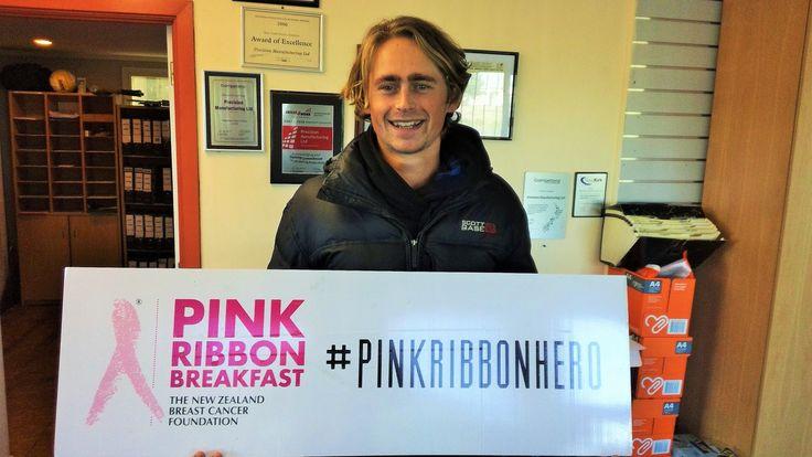 "This ""Not Karen"" at PML! The team at PML A.K.A. Sprockets NZ we appreciate your 2017 Pink Ribbon Support   #pnpinkribbon #pinkribbonhero #pinkribbon"