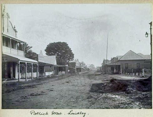 1900 Laidley Patrick Street Manns Bakery on Left