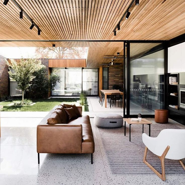 5,174 Me gusta, 30 comentarios - lucdesign and @lucdesign_style (LUC. Design) en Instagram: Courtyard House Figr Architecture @figr_architecture Photo Tom Blachford Lori Blachford Styling Ruth…