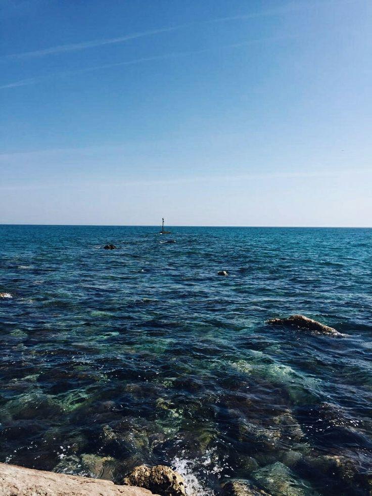 My blue world. Fuengirola, Málaga. Spain. #sea #ocean #beach #blue