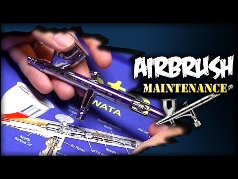 Tips & Tricks to Airbrush Maintenance You Should Know - YouTube