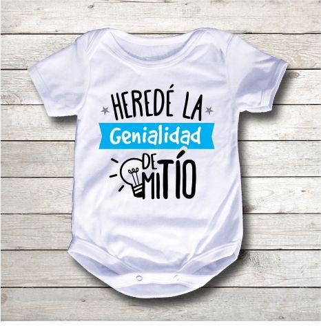 Bodys o mamelucos para bebé con mensajes espectaculares para las tías y tíos más amorosos