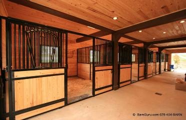 Barns Horse Barn Designs Stalls Horses Design Floors Barns Plans