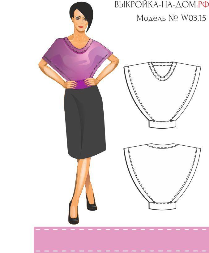 19 цельнокроеных модных выкроек для не умеющих шить