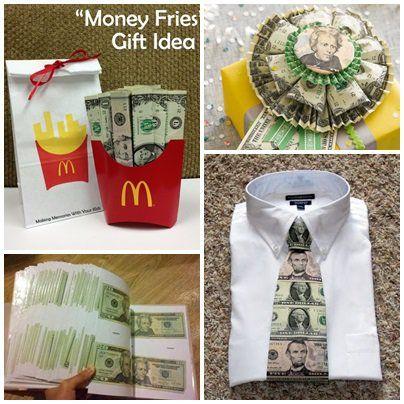20 fantasztikus ötlet, hogy hogyan ajándékozz pénzt. Money, diy