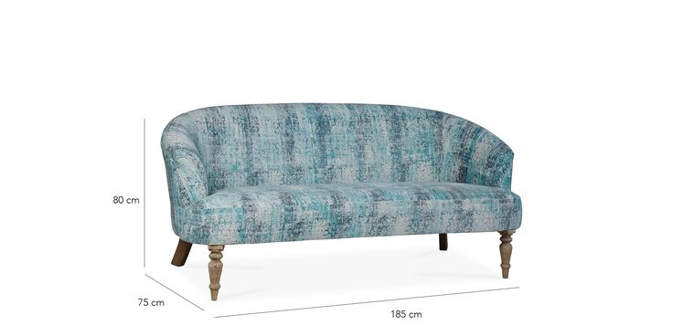 Osbourne Three-seater Sofa | Swoon Editions