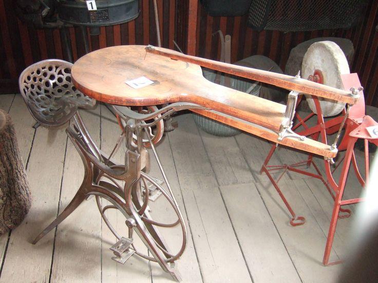 An antique pedalpowered scroll saw 2848x2136 scroll