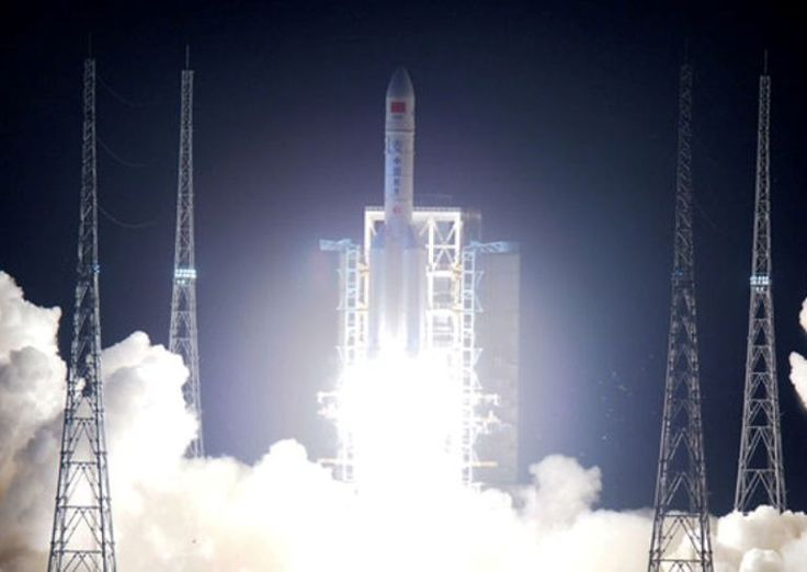 China Launches Long March 5, One Of The World's Most Powerful Rocket - https://technnerd.com/china-launches-long-march-5-one-of-the-worlds-most-powerful-rocket/?utm_source=PN&utm_medium=Tech+Nerd+Pinterest&utm_campaign=Social