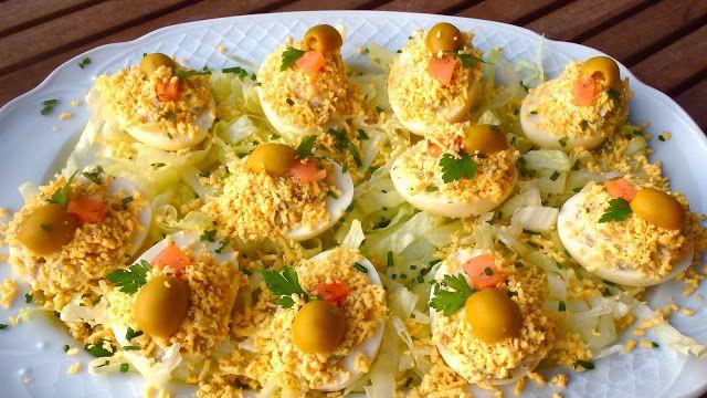 Huevos rellenos, 5 recetas diferentes que te van a encantar | Cocinar en casa es facilisimo.com