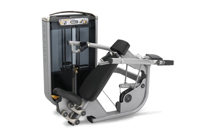 G7 Converging Shoulder Press : Matrix Fitness Equipment
