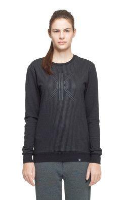Onepiece London College Sweater Noir