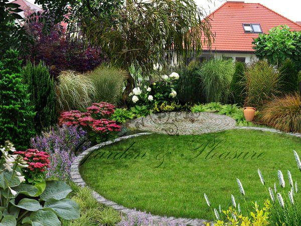 Elegancki ogród naturalistyczny - Projektowanie Ogrodów - GARDEN & Pleasure - ogrody, projektowanie i zakładanie ogrodów Warszawa