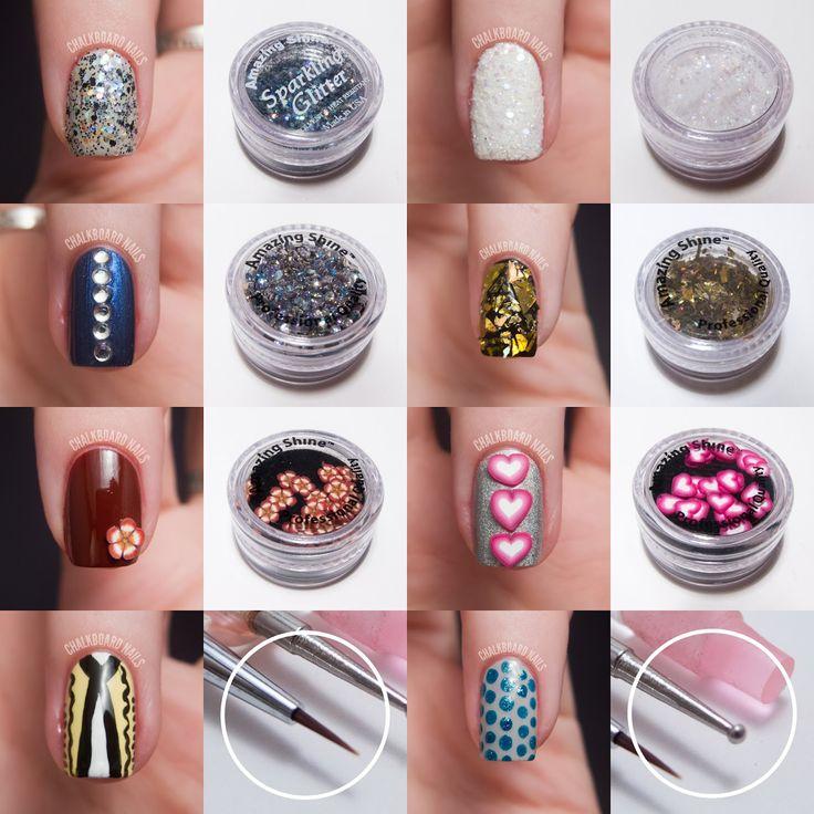 Chalkboard Nails: Amazing Shine Nail Art Kit Review