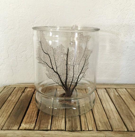Vintage Large Glass Jar Industrial Canister by @NostalgicNuance
