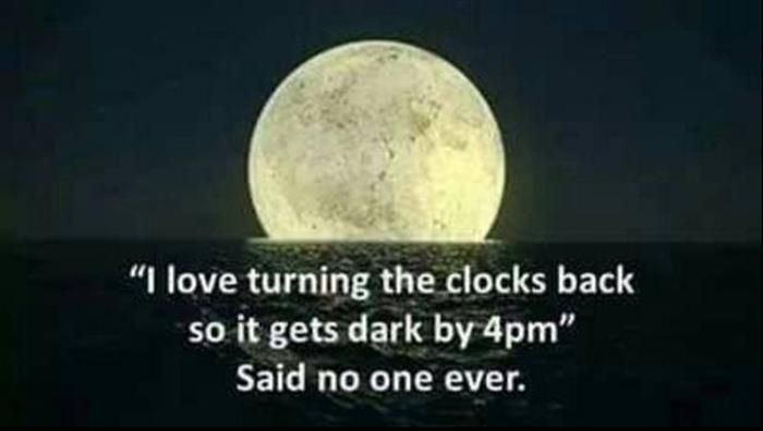 turn your clock back