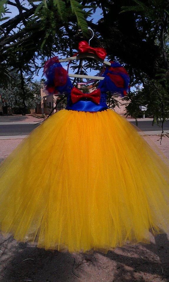 Snow White Tutu Dress (Halloween Costume)