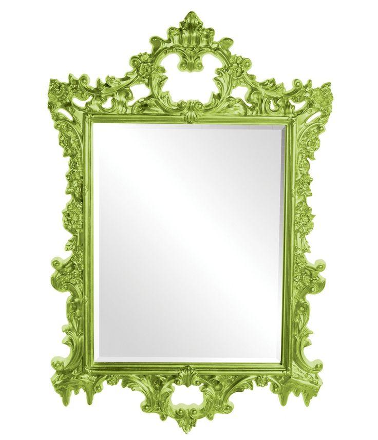 Sherman Green Mirror | Howard Elliott | Home Gallery Stores