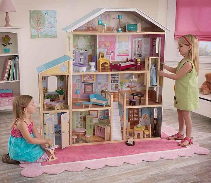 die besten 25 kidkraft puppenhaus ideen auf pinterest. Black Bedroom Furniture Sets. Home Design Ideas