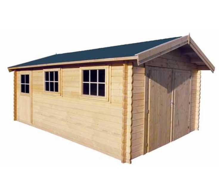 17 meilleures id es propos de garage bois pas cher sur pinterest carport - Garage bois discount ...