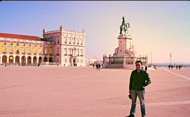 In Lissboa during my tour in Portugal..