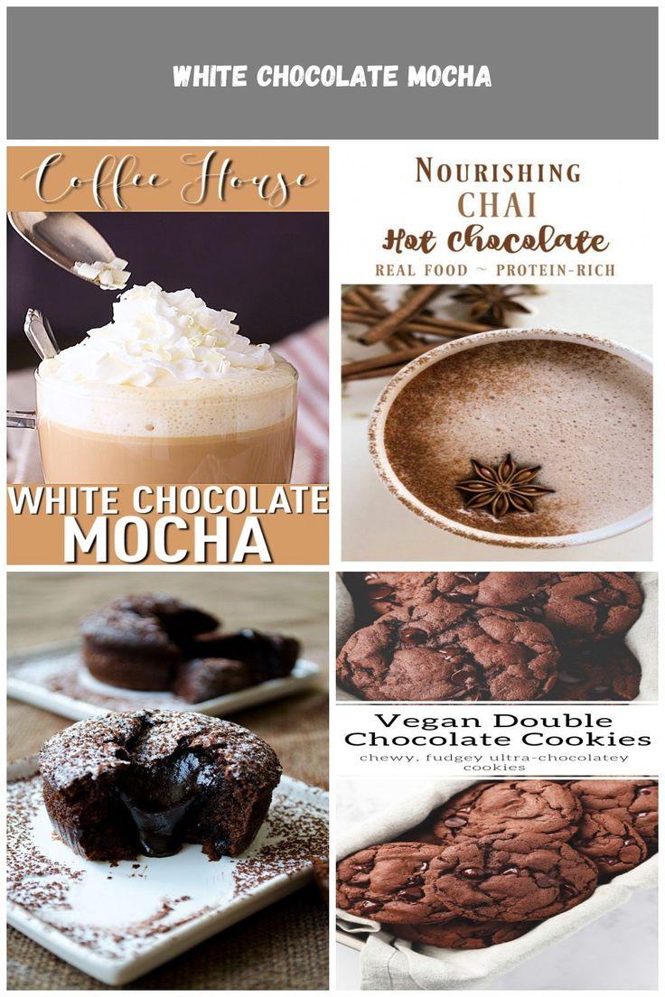 White Chocolate Mocha: So ein leckeres Wintergetränk! Ich mache das, wenn ich tre …