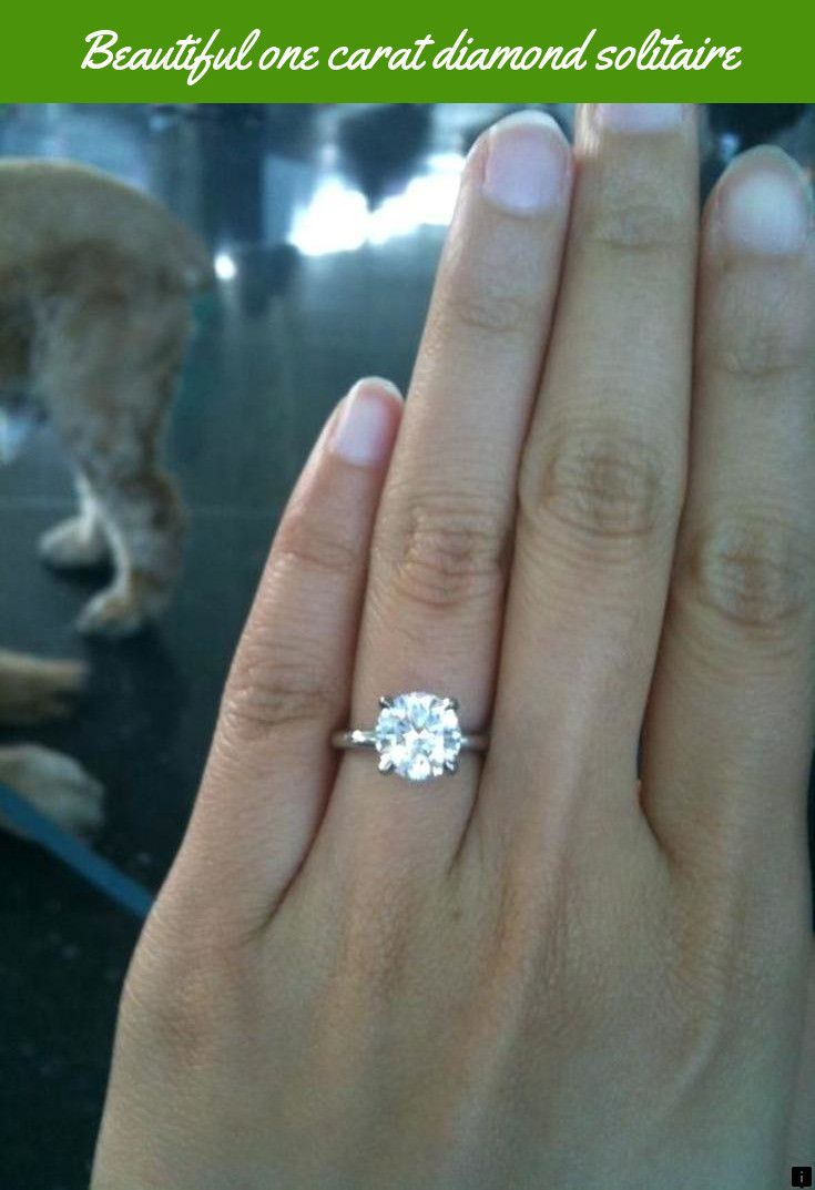 Click On The Link For More Info One Carat Diamond Solitaire Check The Webpage To Engagement Ring On Hand Diamond Engagement Rings Aquamarine Engagement Ring