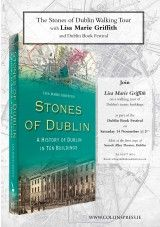 Walking Tour of the Stones of Dublin at Dublin Book Festival - The Collins Press: Irish Book Publisher