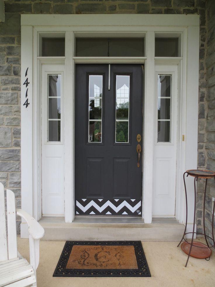 Custom Made Door Kick Plates   Deck the Door DecorBest 25  Kick plate ideas on Pinterest   Craftsman outdoor fabric  . Entry Door Kick Plates. Home Design Ideas