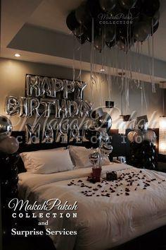 Milestone…let's make it special ⭕️ ⭕️. Romantic Room ...