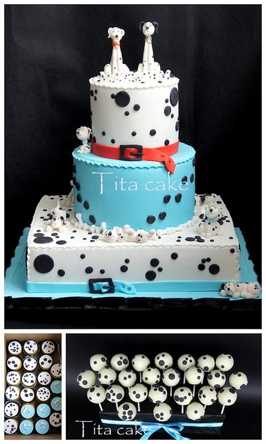 "cake ""101 Dalmatians "" by hrisiv, via Flickr"