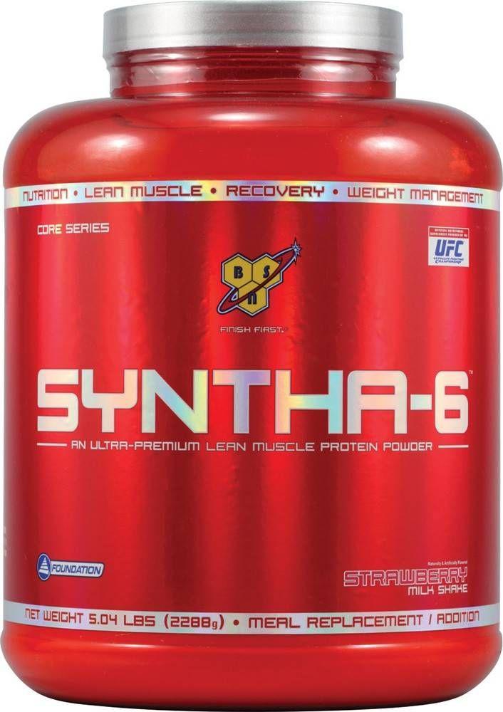 Syntha-6 bestaat uit een mix van maar liefst 6 verschillende soorten eiwitten! Ei-eiwit, Melk Eiwit Isolaat, Melk Eiwit Concentraat, micro gefiltreerde whey proteïne concentraat, cross flow gefiltreerde whey proteïne isolaat en whey hydrolisaat.