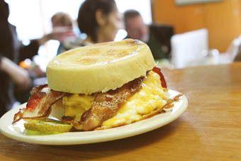 The Kiwi Café - Breakfast Menu