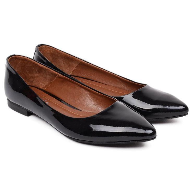 #black #ballerina #shoe