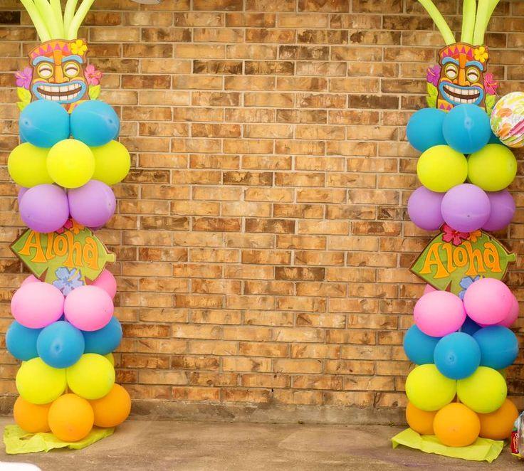 Hawaiian Luau Birthday Party Ideas | Photo 7 of 23 | Catch My Party
