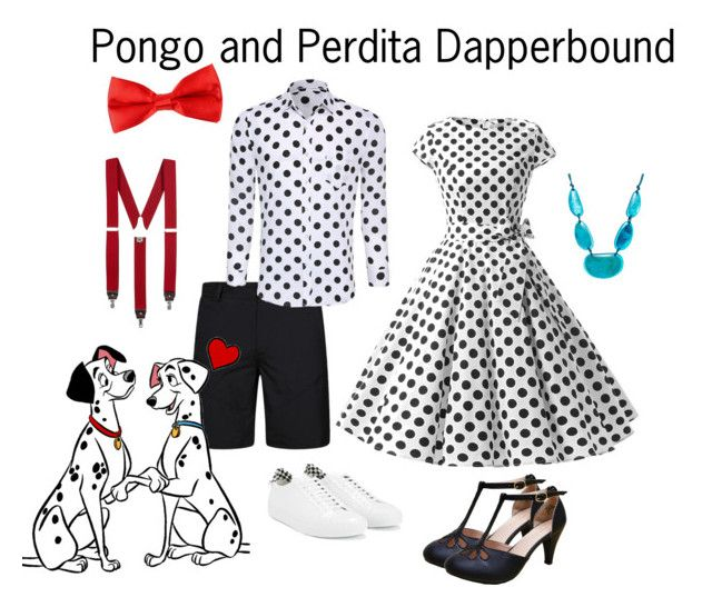 """""""Pongo and Perdita Dapperbound"""" by dicey828 ❤ liked on Polyvore featuring Style & Co., Givenchy and Lardini"""