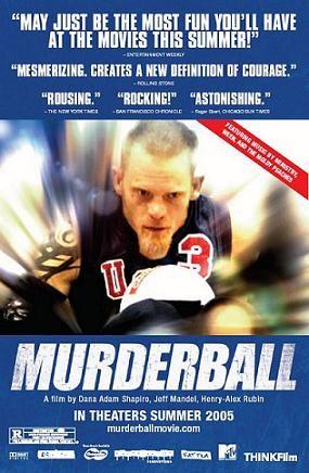 """Rugby na wózkach, nazwa oficjalnie przyjęta pod koniec lat 80 XX wieku, to połączenie koszykówki na wózkach i gry w hokeja na lodzie. Powstała w 1977 roku w Kanadzie i stała się popularna na całym świecie. Również w Polsce mamy ligę tej nietypowej dyscypliny sportowej, która wcześniej nazywana była """"Murderball"""" - mordercza piłka.  """"Murderball"""" to dokument o młodych…"""