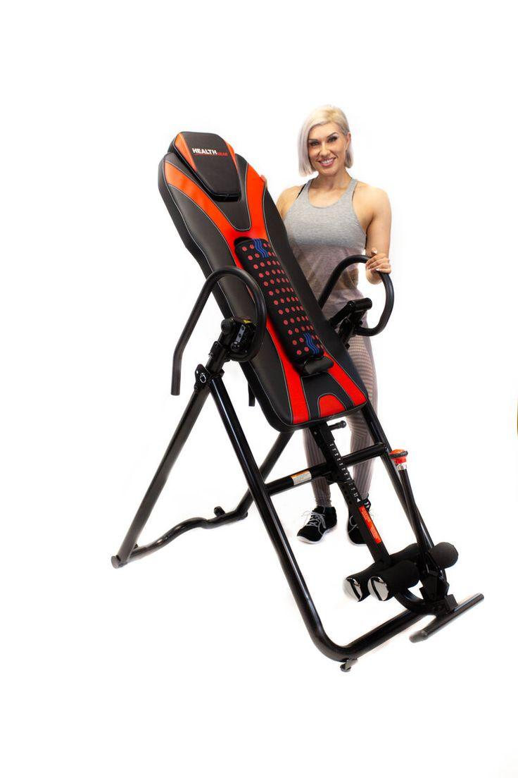 Health gear hgi 69 full back heat and massage inversion